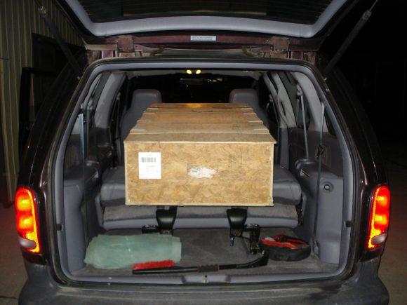 Stewart 51 - Vertical Fin & Rudder Crate