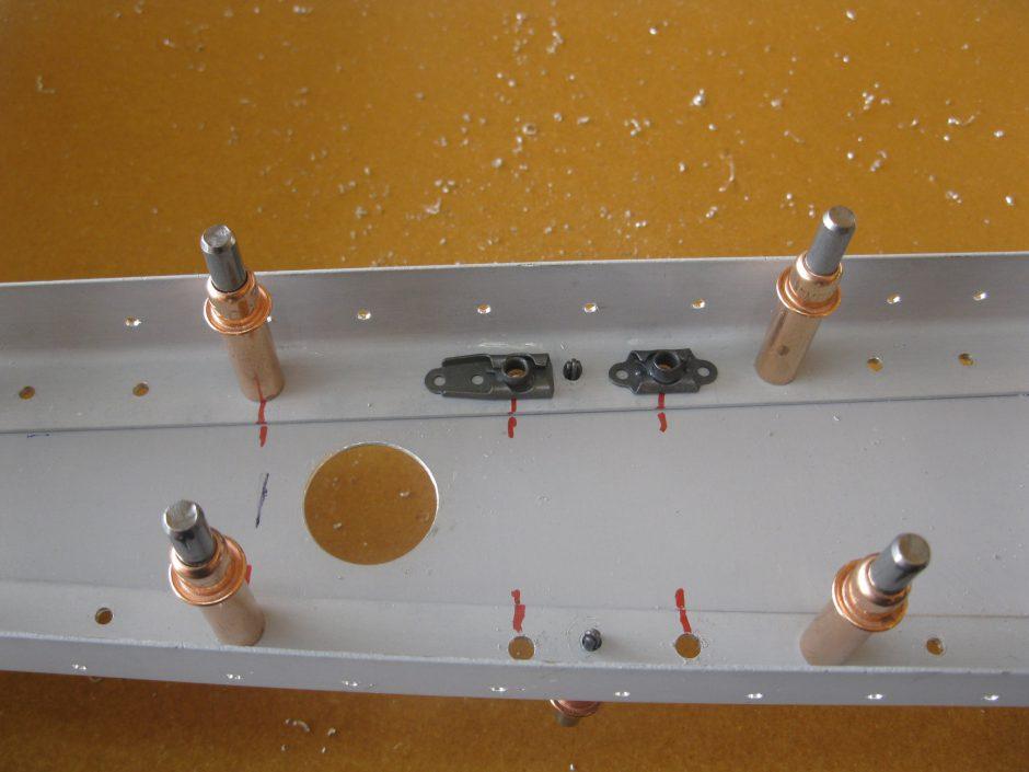 Rudder Spar Nutplate