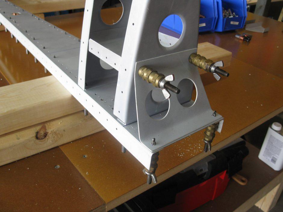 Stewart 51 Rudder Spar