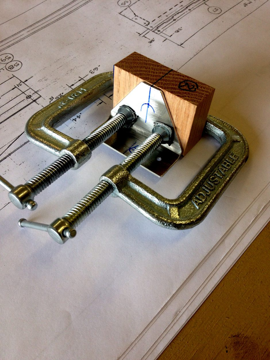 Hinge Drill Block
